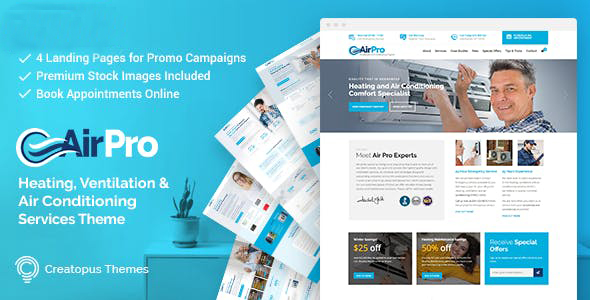 Airpro 2.6.1 NULLED WordPress Theme