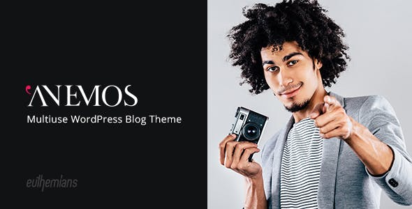 Anemos 2.2.3 NULLED WordPress Theme