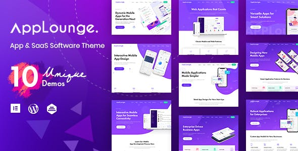 AppLounge 1.1.1 NULLED WordPress Theme