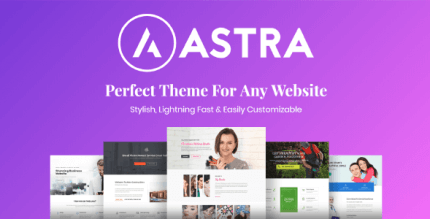 Astra 2.5.5 NULLED WordPress Theme