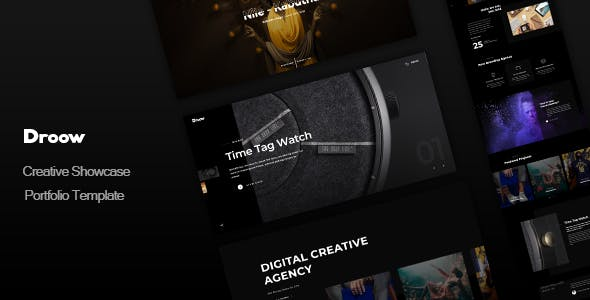 Droow 1.2.0 NULLED WordPress Theme
