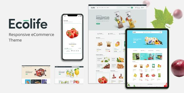 Ecolife 1.0 NULLED WordPress Theme