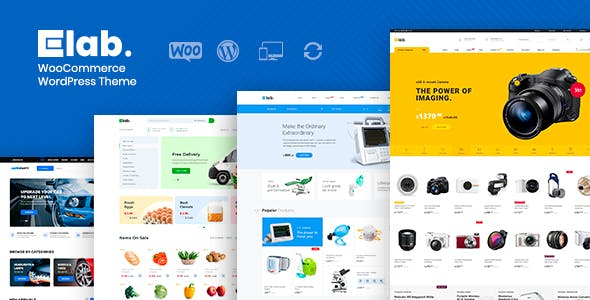 eLab 1.2.2 NULLED WordPress Theme