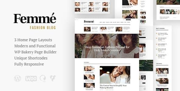 Femme 1.3.0 NULLED WordPress Theme