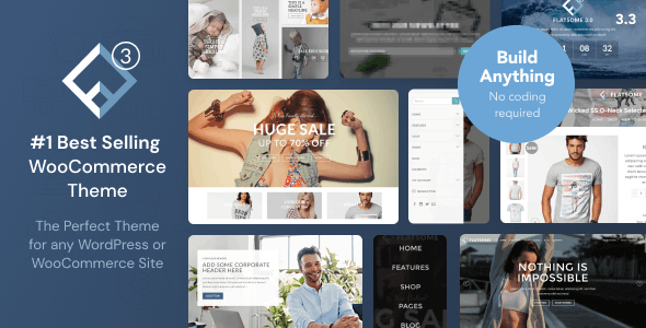 Flatsome 3.12.2 NULLED WordPress Theme