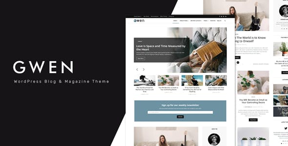 Gwen 1.6 NULLED WordPress Theme