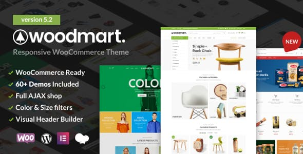WoodMart 5.2.0 NULLED WordPress Theme
