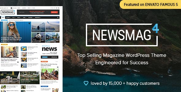 Newsmag 4.9.5 NULLED WordPress Theme