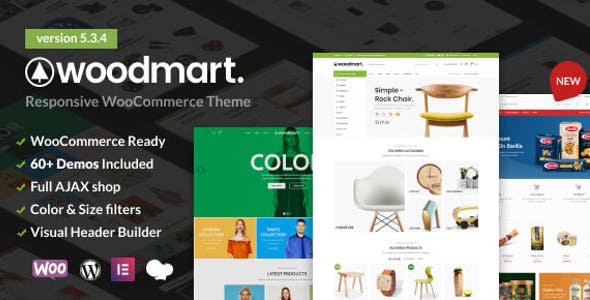 WoodMart 5.3.4 NULLED WordPress Theme