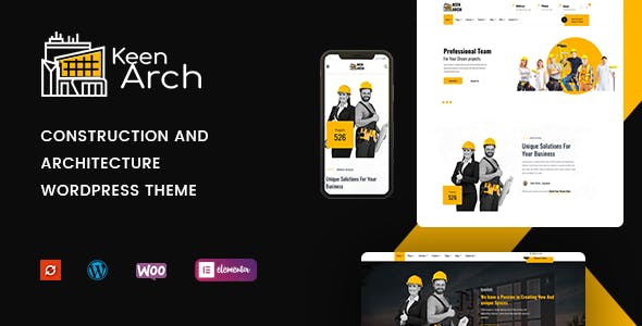 Keenarch 1.0 NULLED WordPress Theme