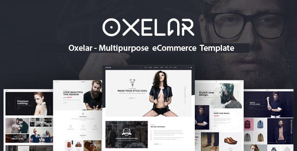 Oxelar 1.2.1 NULLED WordPress Theme