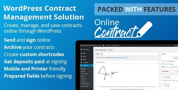 WP Online Contract v5.0.6