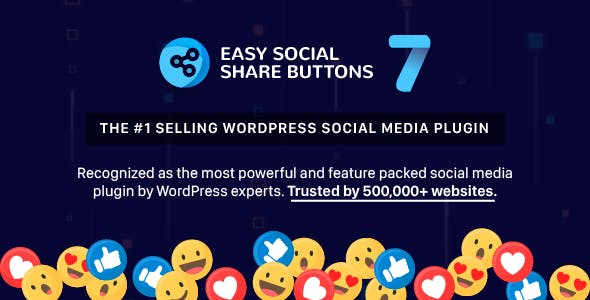 Easy Social Share Buttons for WordPress v7.7