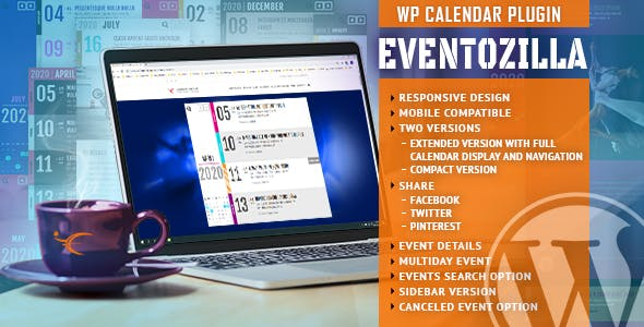EventoZilla v1.3.1 - Event Calendar WordPress Plugin
