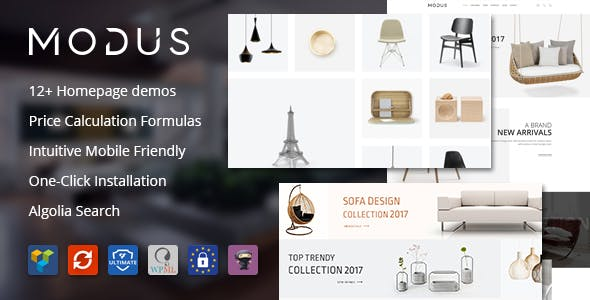 Modus 1.6.2 NULLED WordPress Theme