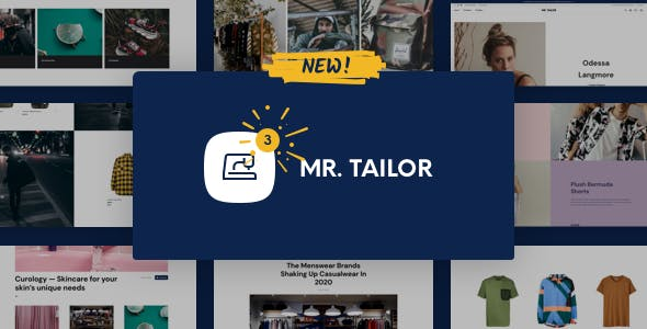 Mr. Tailor 3.0.3 NULLED WordPress Theme