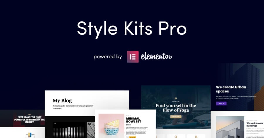 Style Kits Pro v1.1.2 - Get an Unfair Design Advantage in Elementor