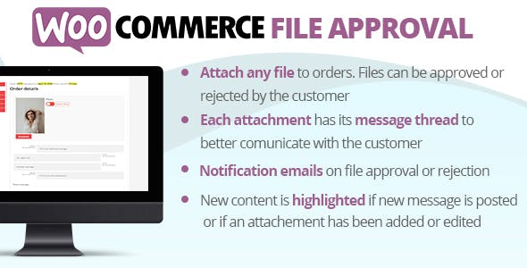 WooCommerce File Approval v1.3.5