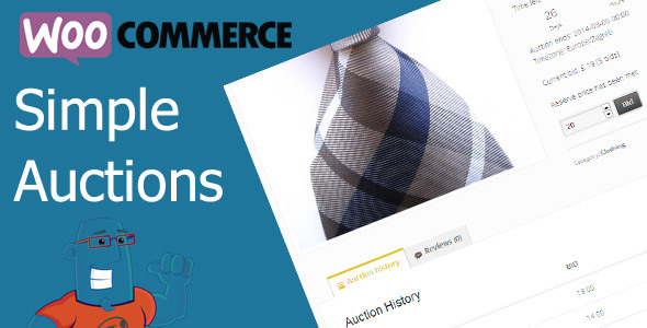 WooCommerce Simple Auctions v1.2.39 - WordPress Auctions